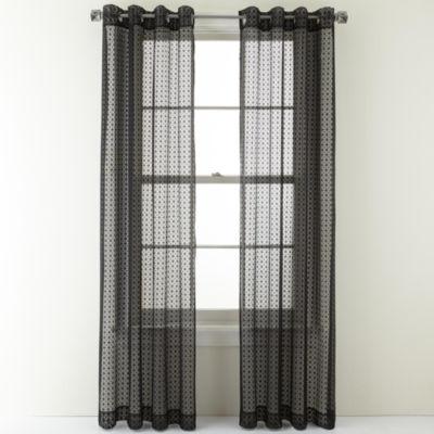 Curtain Length. Color: Black