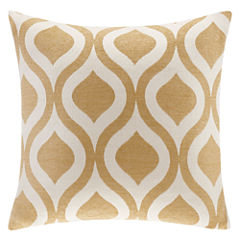 Madison Park Bergamo Chenille Square Throw Pillow