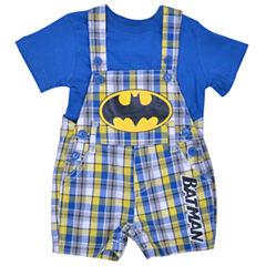 2-pc. Batman Overall Set-Baby Boys
