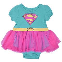 Tutu Supergirl Bodysuit - Baby