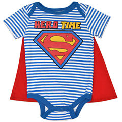 Cape Superman Bodysuit - Baby