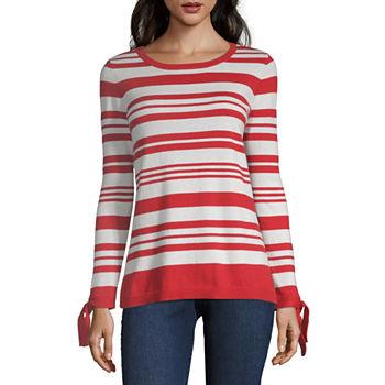 508e7f4ea32e Only at JCP. Cabaret Red Stripe. Turquoise Stripe. Navy Blue Stripe