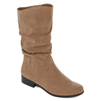 b02ca39309f0 Beige Women s Boots for Shoes - JCPenney