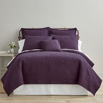 Purple Quilts & Bedspreads for Bed & Bath - JCPenney : purple quilted bedspreads - Adamdwight.com