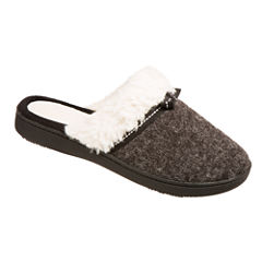 Isotoner Heathered Knit Clog