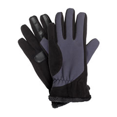 Isotoner Women's smartDRI® Fleece with Tech Stretch Gloves and smarTouch® Technology