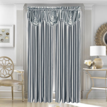 Satin Curtains Drapes For Window Jcpenney