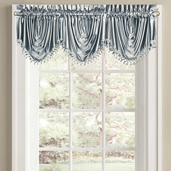 Satin Green Curtains Drapes For Window Jcpenney