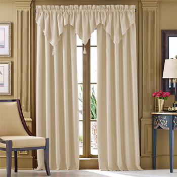 Queen Street 108 Inch White Curtains D For Window