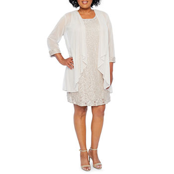 Plus Size Beige Dresses For Women Jcpenney
