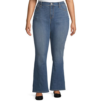 230f6e0d347 Plus Size Bootcut Jeans for Women - JCPenney