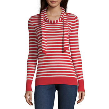8c1208360de Liz Claiborne Red Sweaters for Shops - JCPenney