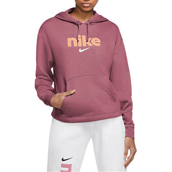 Nike Womens Hooded Neck Long Sleeve Hoodie