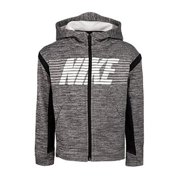 Nike Little Boys Fleece Lightweight Jacket