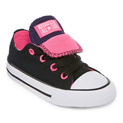 Converse Chuck Taylor All Star Double  Tongue - Ox Girls Sneakers - Toddler