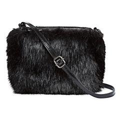 Faux Fur Mini Crossbody Bag