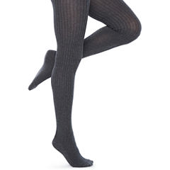 Mixit 1 Pair Ribbed Sweater Tights