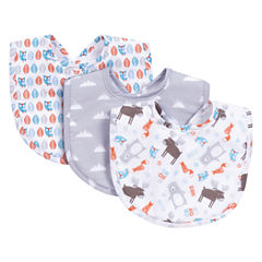 Trend Lab Scandi Forest Boys 3-pc. Bib