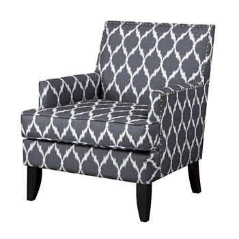 Phenomenal Nailhead Trim Blue Accent Furniture For The Home Jcpenney Uwap Interior Chair Design Uwaporg