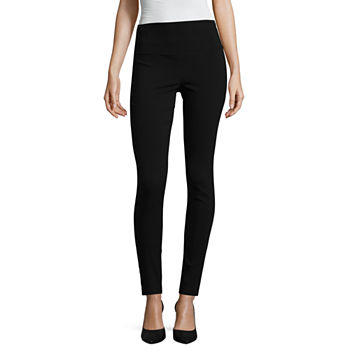 Worthington Womens Skinny Pull-On Pants