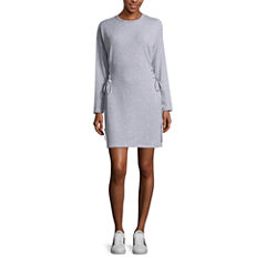 Project Runway Corset Sweatshirt Dress