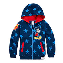 Disney Mickey Mouse Fleece Jacket-Big Kid Boys