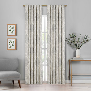 Croscill Classics Phoebe Blackout Back-Tab Set of 2 Curtain Panel