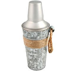 Cambridge® Shiloh Galvanized Cocktail Shaker