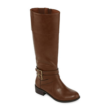 607013343f6 Arizona Womens Denmark Riding Block Heel Zip Boots · (111). Add To Cart.  Few Left. wide calf available