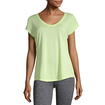 dc5235524f3efa Xersion Green Tops for Women - JCPenney