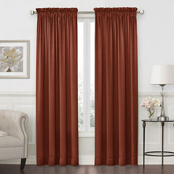 Orange Curtains Drapes For Window