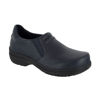 Easy Works By Easy Street Womens Bind  Round Toe Clogs