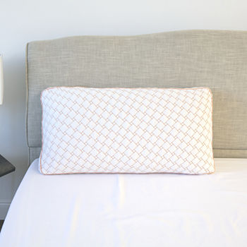 SensorPEDIC Memory Foam Cluster Pillow with Copper Infused Cover