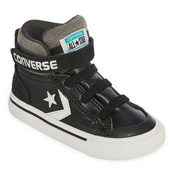 Converse Pro Blaze Strap Leather And Suede Boys Sneakers - Toddler 47c941522