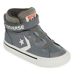 Converse Pro Blaze Strap Leather And  Suede Boys Sneakers