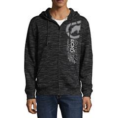Ecko Unltd Long Sleeve Fleece Pattern Hoodie