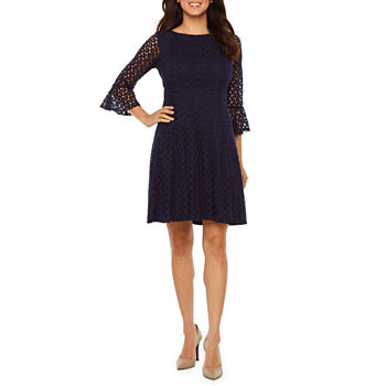 96182972f37d 3 4 Sleeve Lace Dresses for Women - JCPenney