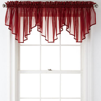 Red Valances For Window Jcpenney