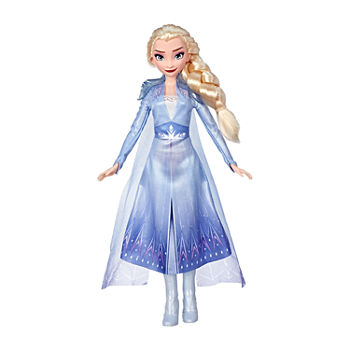 Hasbro Disney Frozen Elsa Fashion Doll With Long Blonde Hair And Blue Outfit Inspired By Frozen 2