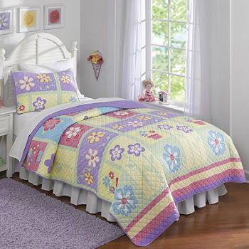 Girls Quilt Sets Kids Bedding For Bed Bath Jcpenney