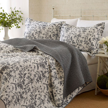 1bbf34d4e5 Laura Ashley Comforters   Bedding Sets for Bed   Bath - JCPenney