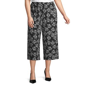 950859ca780 Plus Size Capris   Crops for Women - JCPenney