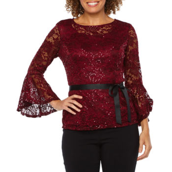 Shirts Tops Red Evening Formal Separates For Women Jcpenney