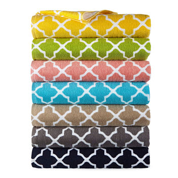 Jcpenney Home Lattice Bath Towels