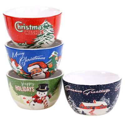theme  sc 1 st  JCPenney & Christmas Ice Cream Bowls Dinnerware For The Home - JCPenney