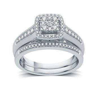 Modern bride wedding engagement jewelry no color junglespirit Images