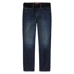 Arizona Straight Fit Jean Big Kid Boys Husky