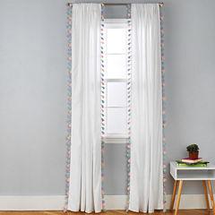 Frank And Lulu Rod-Pocket Curtain Panel