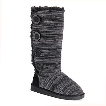 382bd375c3f Muk Luks Black Women's Boots for Shoes - JCPenney