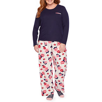 9b9f65c93e Liz Claiborne Notch Collar Flannel Pant Pajama Set-Tall · (8). Add To Cart.  Few Left